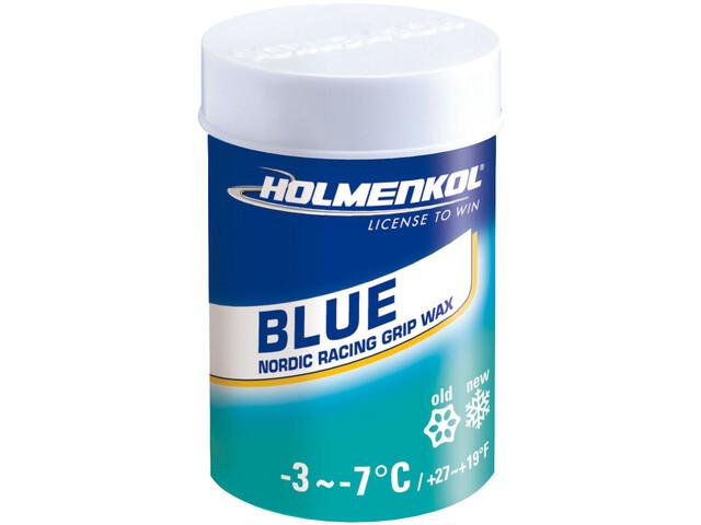 Holmenkol Grip Grip Wax 45g Blue